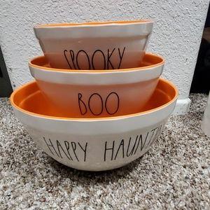 Rae Dunn Melamine Halloween Bowls